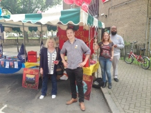 Labour Party stall at Falcon Festival