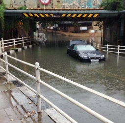 Latchmere Rd flood BY RUTH DANGERFIELD
