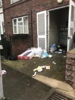 Rubbish bins Kambala Estate 180123