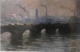 Waterloo Bridge, 1900