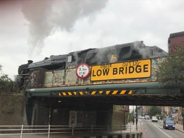 steam train @ lm